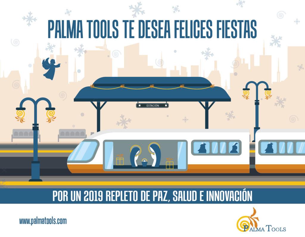 Felicitación Navidad Palma Tools 2018